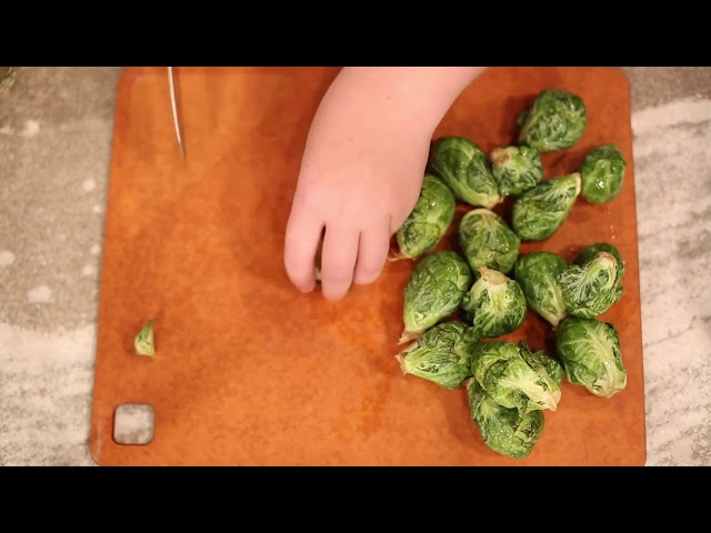 Vera's Minis - Instant Pot Brussels Sprouts