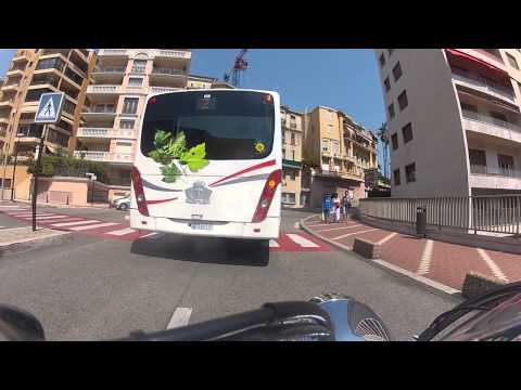 Motorcycle tour, crossing french cote de Azur: Cannes to Monaco