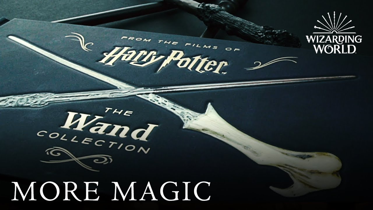 harry potter the ultimate collection wands