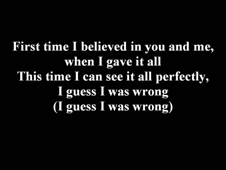 Dead By April - What Can I Say (No screaming) Lyrics - YouTube