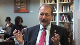 Spring 2011: A chat with Chancellor Blumenthal