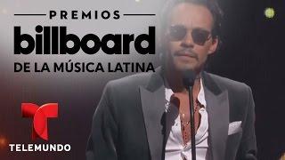 Marc Anthony arrasa en 'Tropical Albums' Artista del Año, Solista en Premios Billboard 2017 (VIDEO)