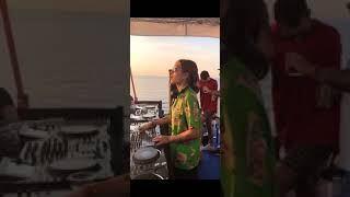 Peggy Gou at Sonus Festival 2018 in boat party 🎉