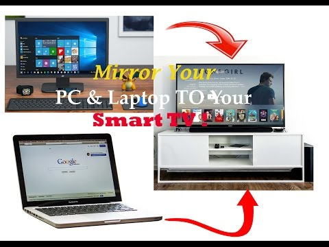 How to Connect your PC/Laptop to a  TV |Connect Computer to Smart tv! (Windows 10)