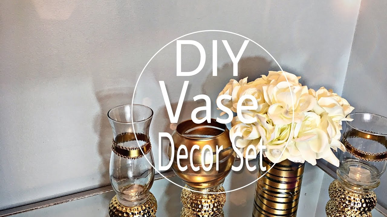 Diy dollar tree home decor vase set youtube diy dollar tree home decor vase set reviewsmspy