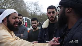 ALI DAWAH CONFRONTS ANJEM CHOUDHARY FOLLOWER ABDUL HAKEEM