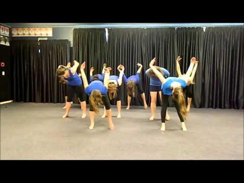 Dance 4 Asthma Tauranga Girls' College 2014