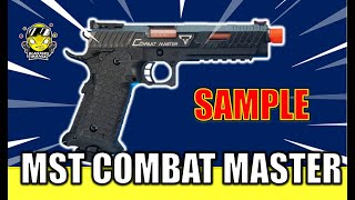 MST TTI COMBAT MASTER 2011 (Unboxing and Review) - Blasters Mania