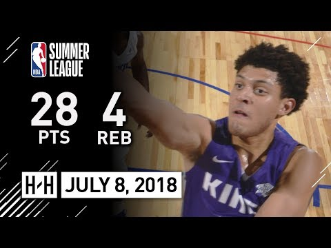 Justin Jackson Full Highlights vs Clippers (2018.07.08) NBA Summer League - 28 Pts, 4 Reb, 2 Ast