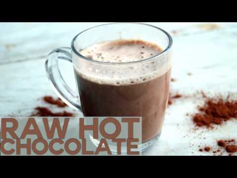 Raw Dairy Free Hot Chocolate Recipe Vegan, sugar free, gluten free & healthy