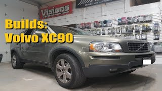 Builds: Volvo XC90 Remote Start and Pioneer Screen with Backup Camera | AnthonyJ350