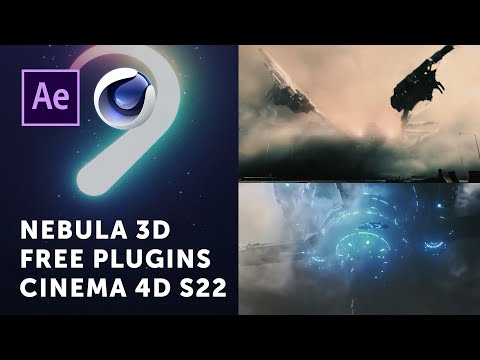 Nebula 3D, Cinema 4D S22, and Free Plugins for After Effects