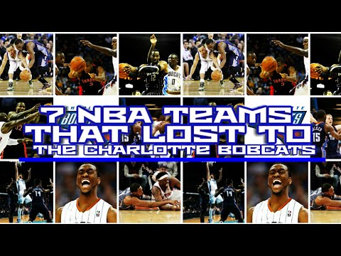 7 Teams That Lost To The 2011-12 Charlotte Bobcats