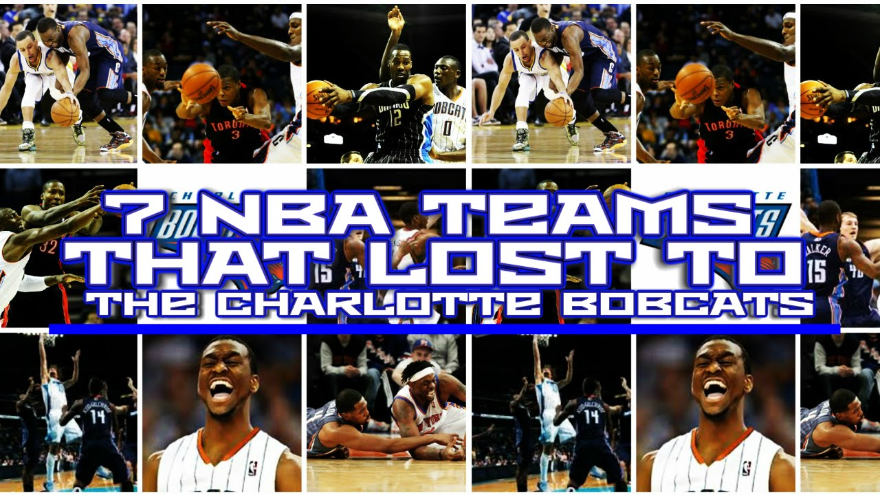 7 Teams That Lost To The 2011 12 Charlotte Bobcats Youtube