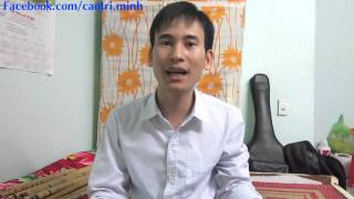 11. Hướng dẫn thổi sáo 2015: Kỹ thuật vuốt ngón -- (sáo trúc Cao Trí Minh)