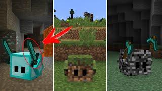 เป็นคุณ จะจับไหม!? บล็อคมีชีวิต!! ในมายคราฟ | Minecraft Mod