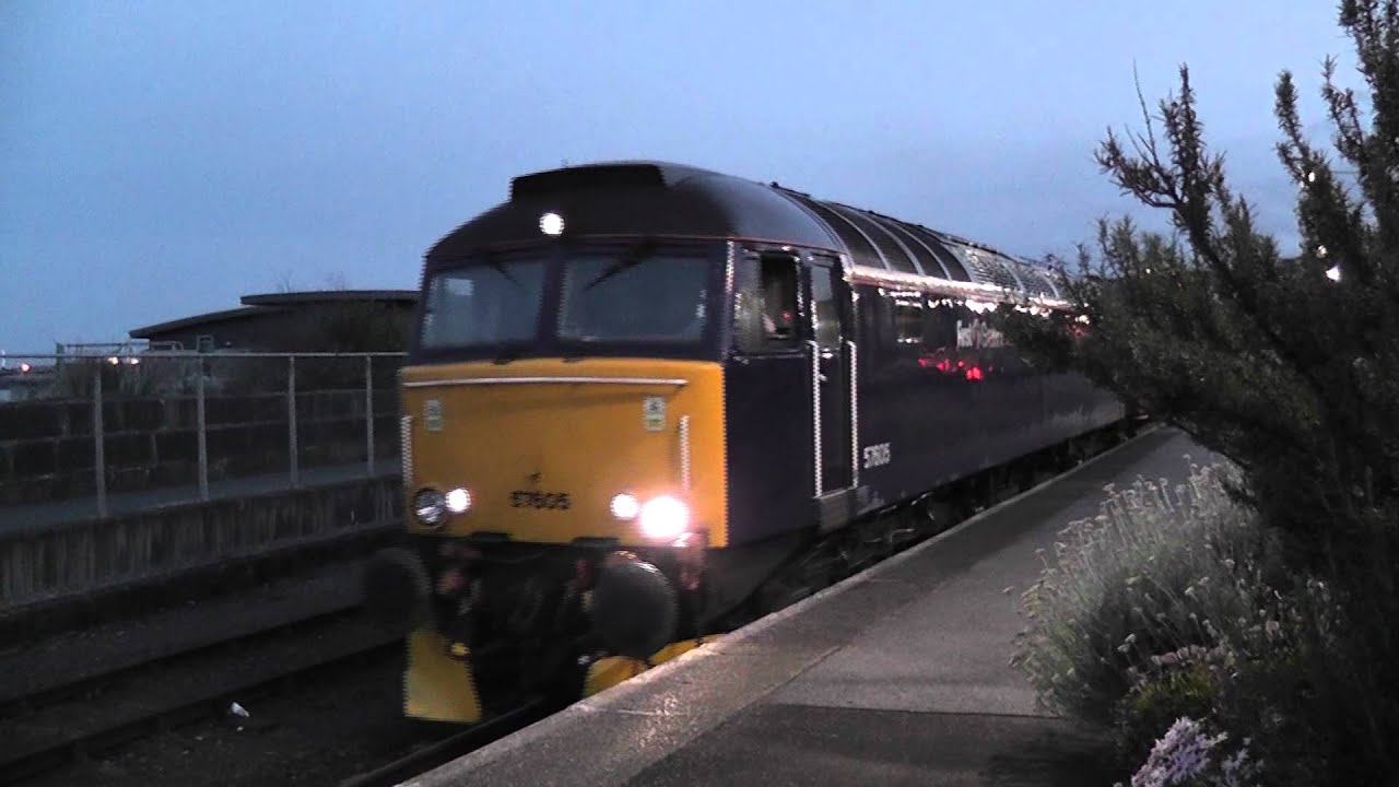 First Great Western Night Riviera Leaving Penzance Youtube
