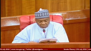 Senate Plenary, 17th July 2018