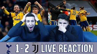 BARCA & MADRID FANS REACT TO: JUVE 1-2 WIN OVER TOTTENHAM - REACTION