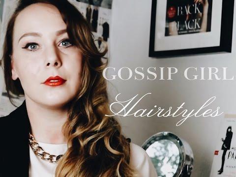 3 Hairstyle's || Hair Tutorial Serena Van Der Woodsen • GOSSIP GIRL • Blake Lively