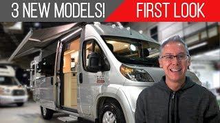3 New Models Debut! | Winnebago Boldt, National Traveler Explore, Panoramic RV | First Look