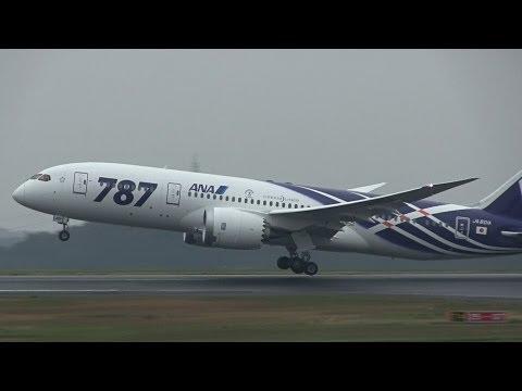 ANA Boeing 787 JA801A - Okayama Airport【OKJ/RJOB】 -