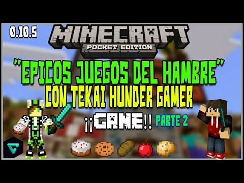 ¡Increible Juegos Del Hambre Minecraft PE!C/Tekai Hunder Gamer