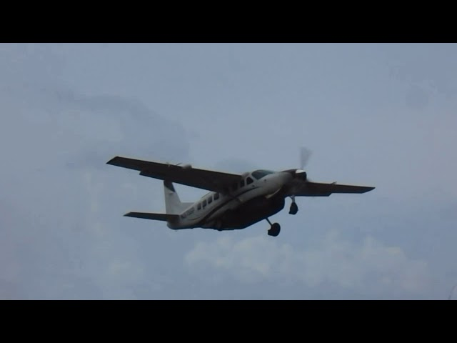 Epic!! Cessna 425 Corsair [N239JP] departing the Canefield Airport