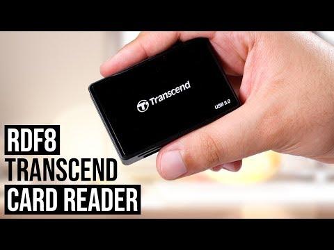 Transcend RDF8 USB 3.0 Card Reader | Review