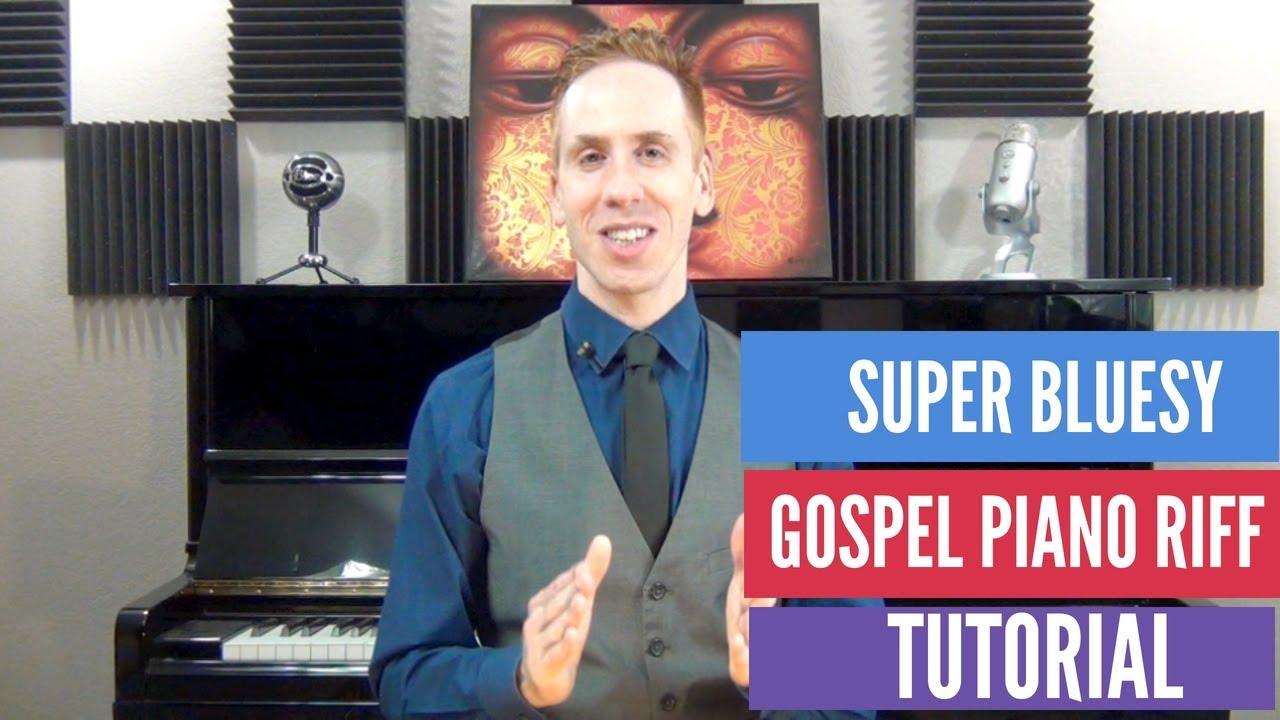 Slick Gospel & Blues Piano Riff Tutorial | Free Jazz Lessons