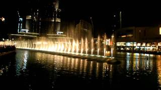 dubai fountain arabic song