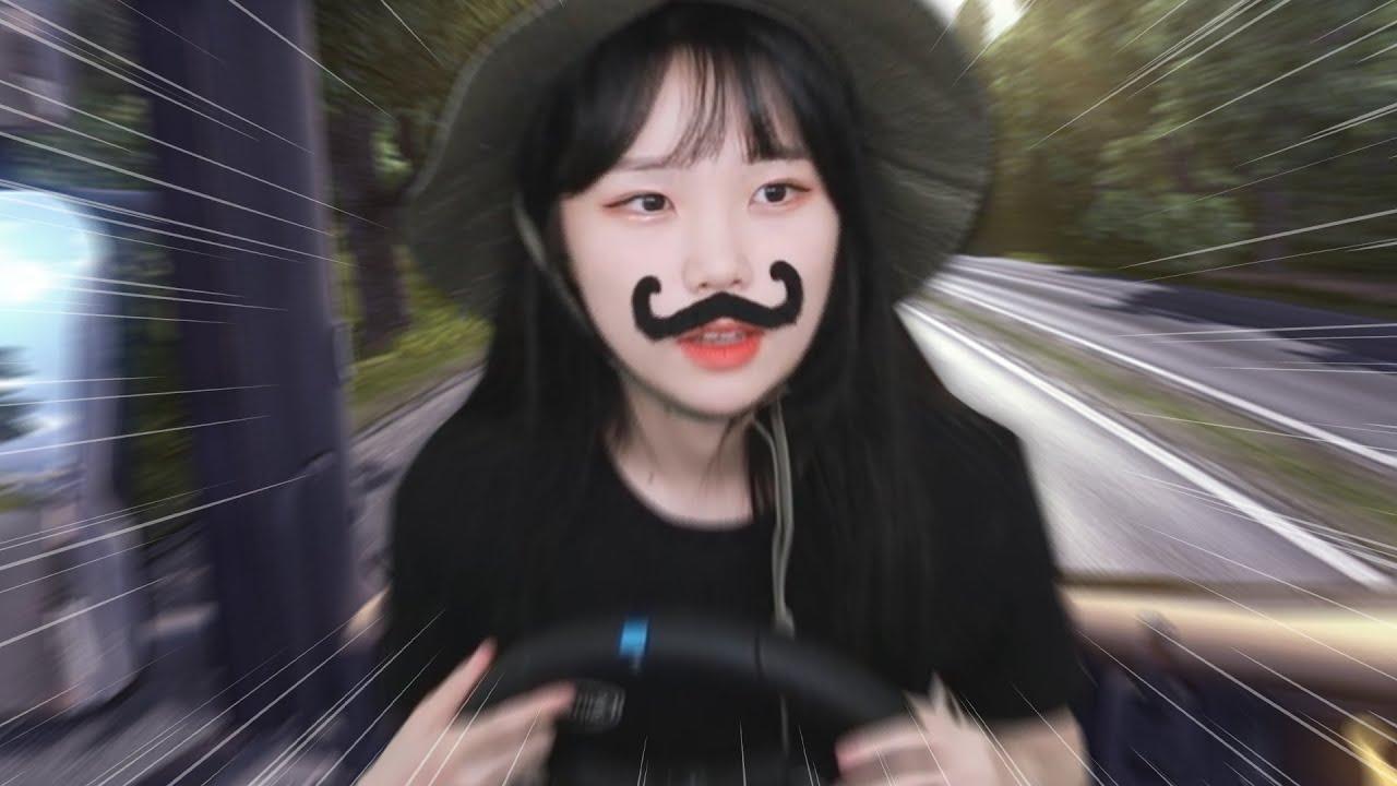트럭 운전에 도전하는 영희 아줌마