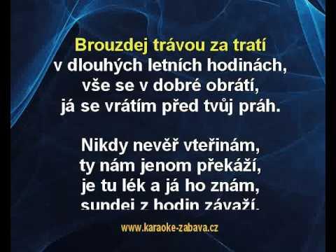 Sundej z hodin závaží - Jakub Smolík a Šárka Tomanová Karaoke tip