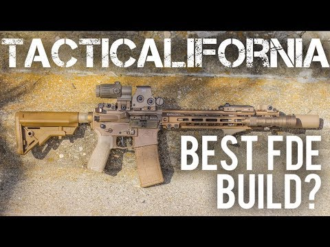 50 SHADES OF FDE BUILD: BEST FDE AR15 EVER?!