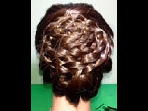 @Easy hairstyle For Party @ Hairstyle For occasion @Party Updos For Medium & long Hair@