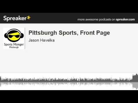 Pittsburgh Sports, Front Page (made with Spreaker)