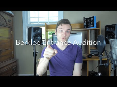 How Can You Pass The Berklee Entrance Audition?