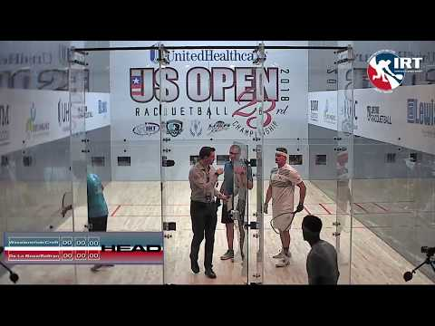 2018 US Open: Doubles Final: Waselenchuck/Croft vs De La Rosa/Beltran