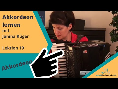 Akkordeonschule, Lektionen C-Dur, Fingersatz Übungen lernen, Accordion, Fisarmonica from YouTube · Duration:  3 minutes 56 seconds