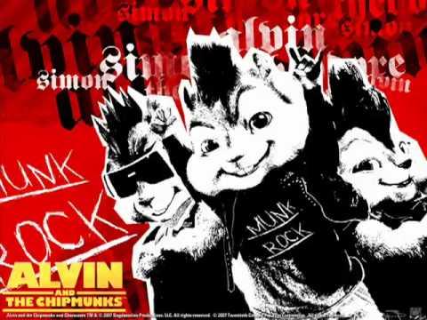 Alvin and the Chipmunks - hula hoop rock version