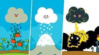 Малыш Панго и облачко. Огонь и вода волшебной тучки