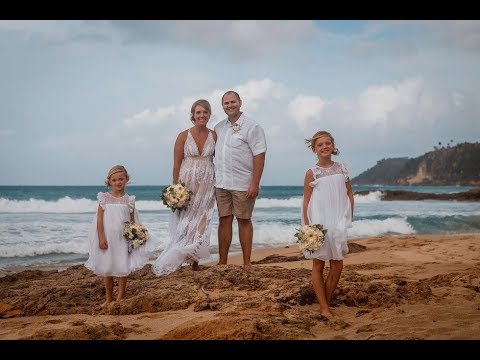 Jenn Joe S Puerto Rico Beach Wedding