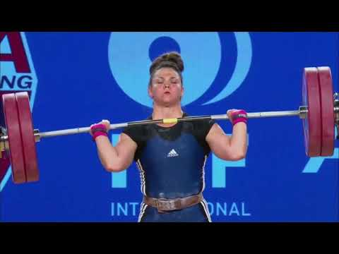 Women's 75 kg A Session Clean & Jerk - 2017 IWF Weightlifting World Championships (WWC)