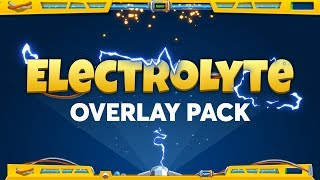 ElectroLyte Overlay - Fortnite Themed Overlay Pack