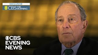 Michael Bloomberg says Trump should be impeached