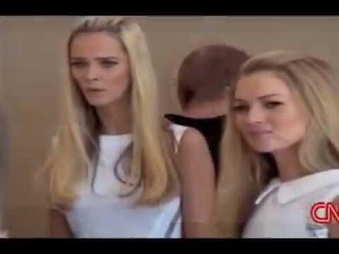 Kate Moss, Carmen Kass & Carolyn Murphy for Versace