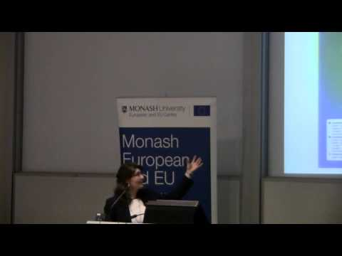 Australia in the Asian Century and its relationship with Europe( Dr. Maria Garcia)