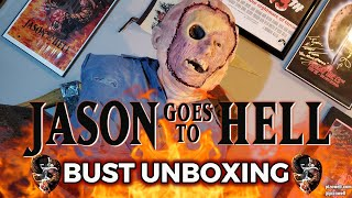 JASON GOES TO HELL - Jason Bust Unboxing