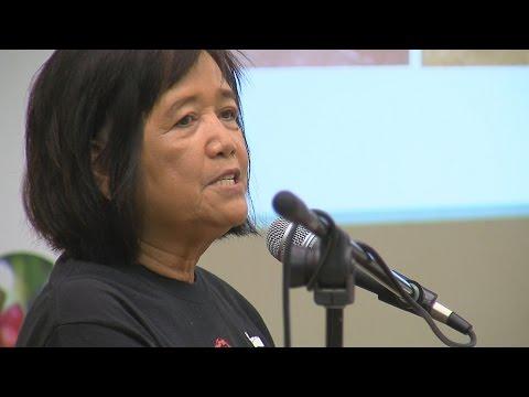 Gloria Cambra, President of the Ka'u Coffee Cooperative