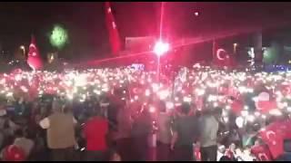 SAKARYA DEMOKRASİ MEYDANI'NDA 100 BİN KİŞİ!